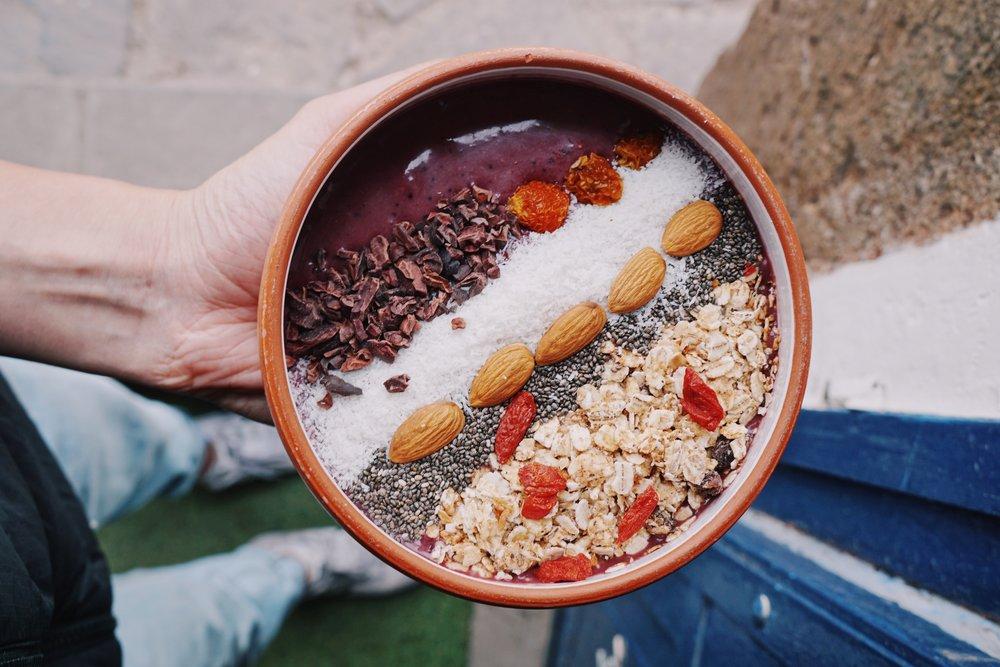 Treat yo'self: Amazing acai bowls at Qura.