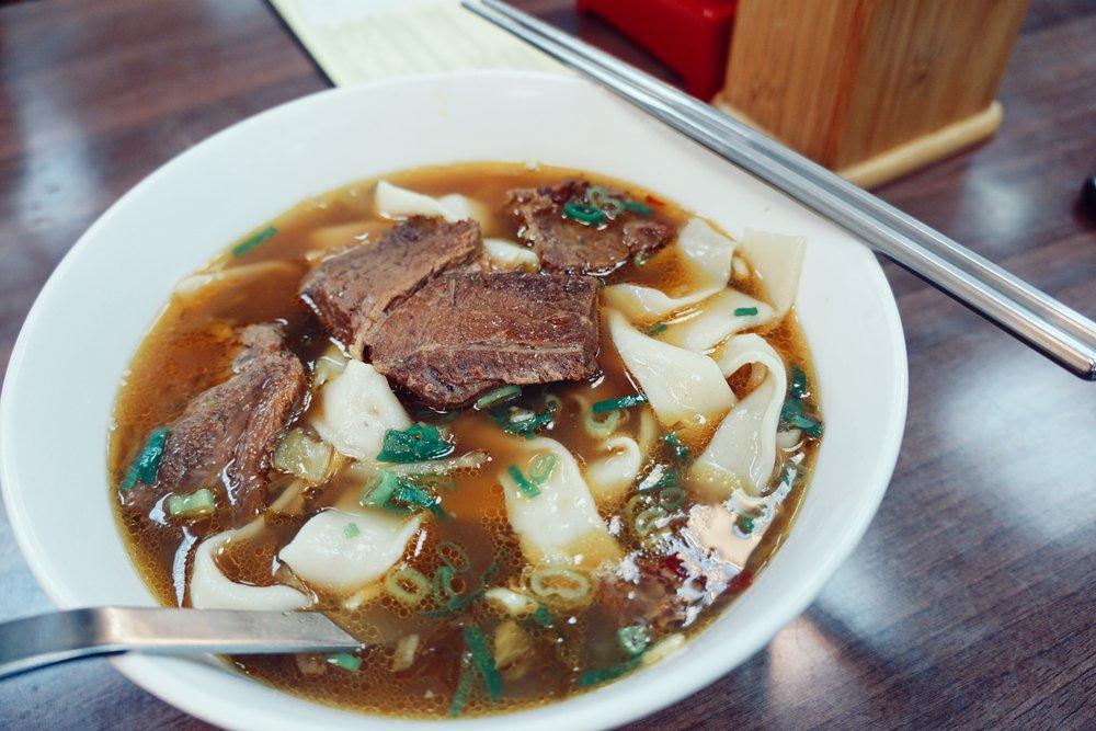 Lao Shandong Homemade Noodles, Taipei.