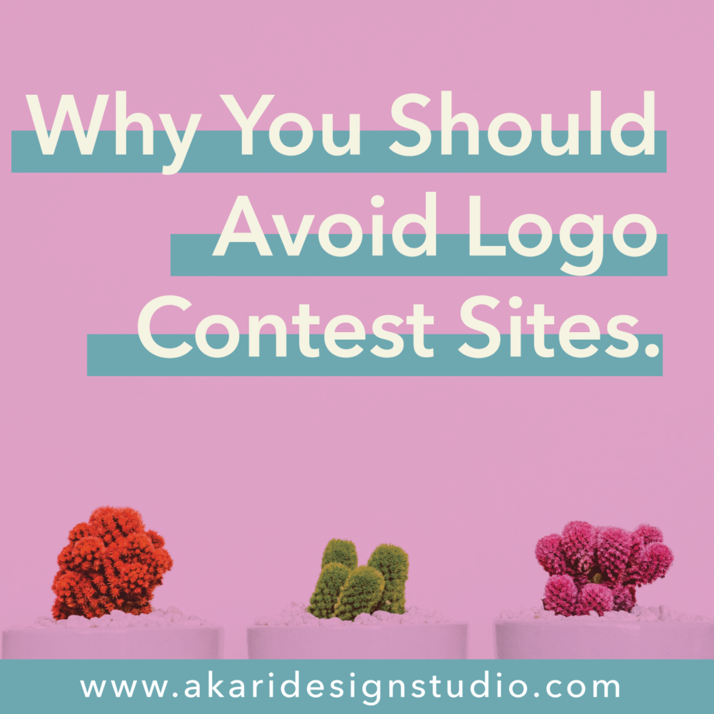 The downside of logo contest sites
