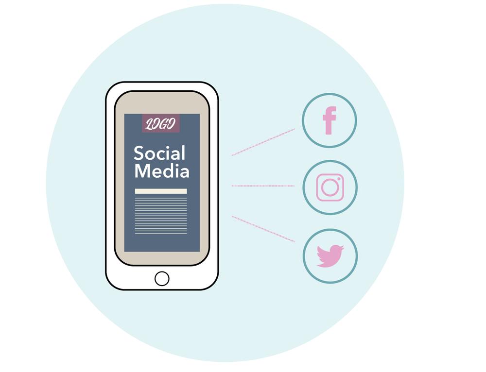 Reasons to brand social media. Social media style designer. Hire visual identity designer for social media.