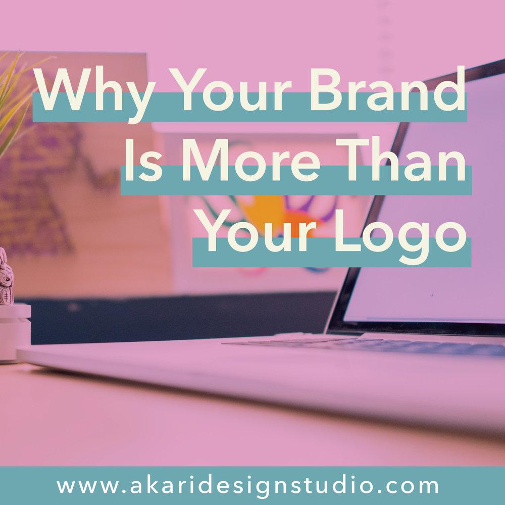 Branding is more than brand logos