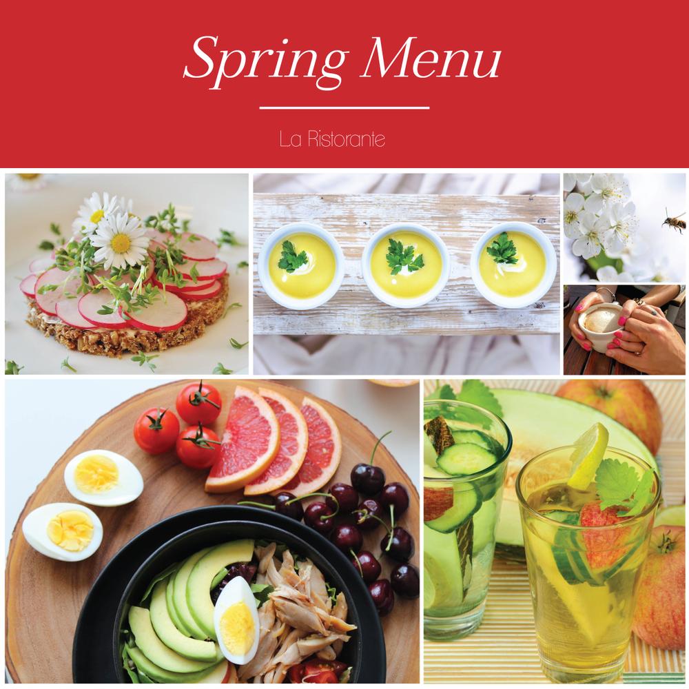 Food blog social media style