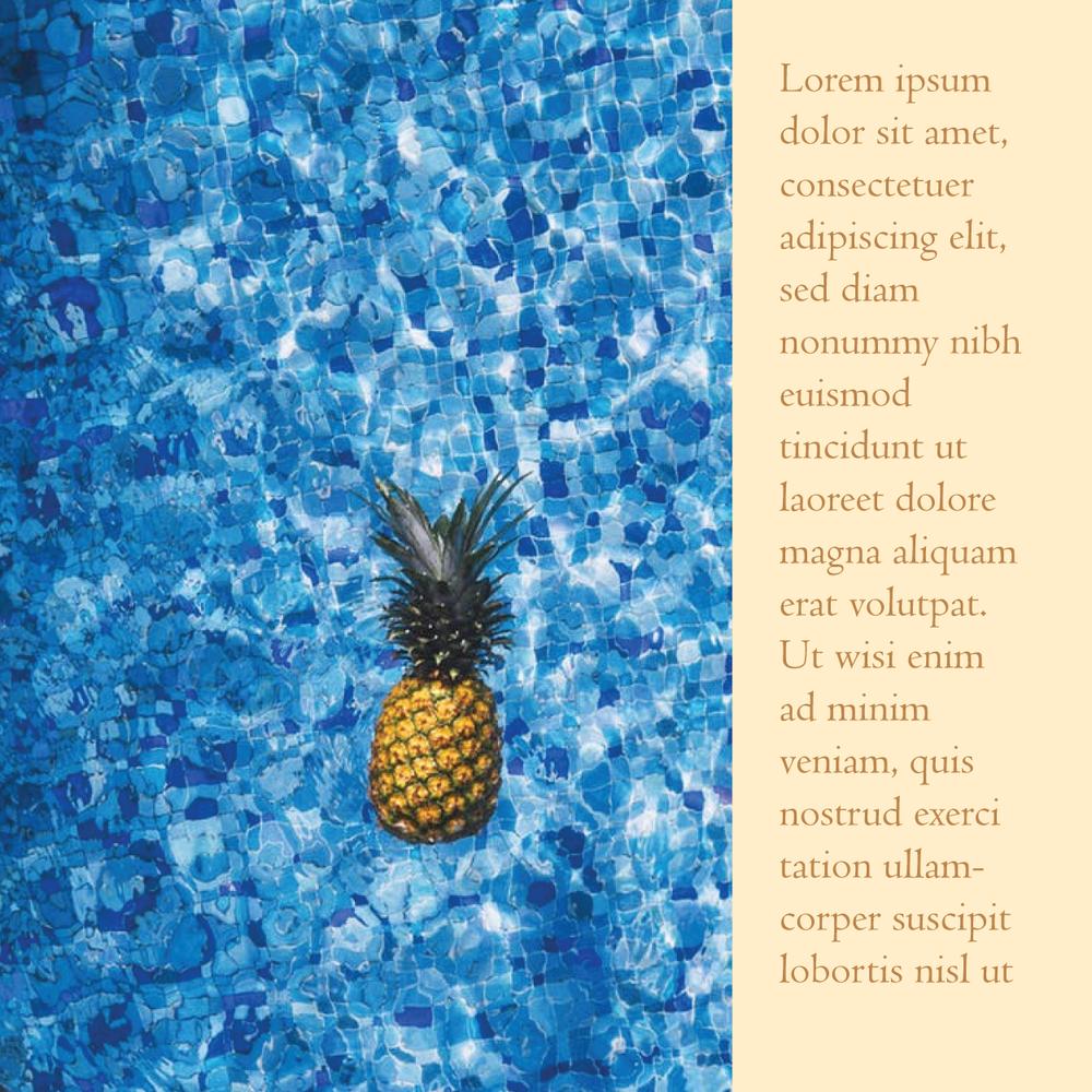 Lemon Blue Instagram Post