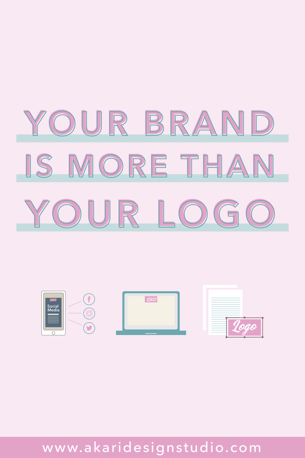 Businesses need more than a logo, they need a brand. Learn why you should brand your business. How branding help businesses grow. How you're customers identify with branding.