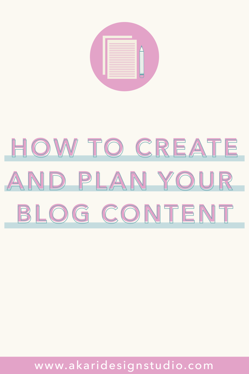 Learn how to plan a bog. Learn how to create high quality blog content.