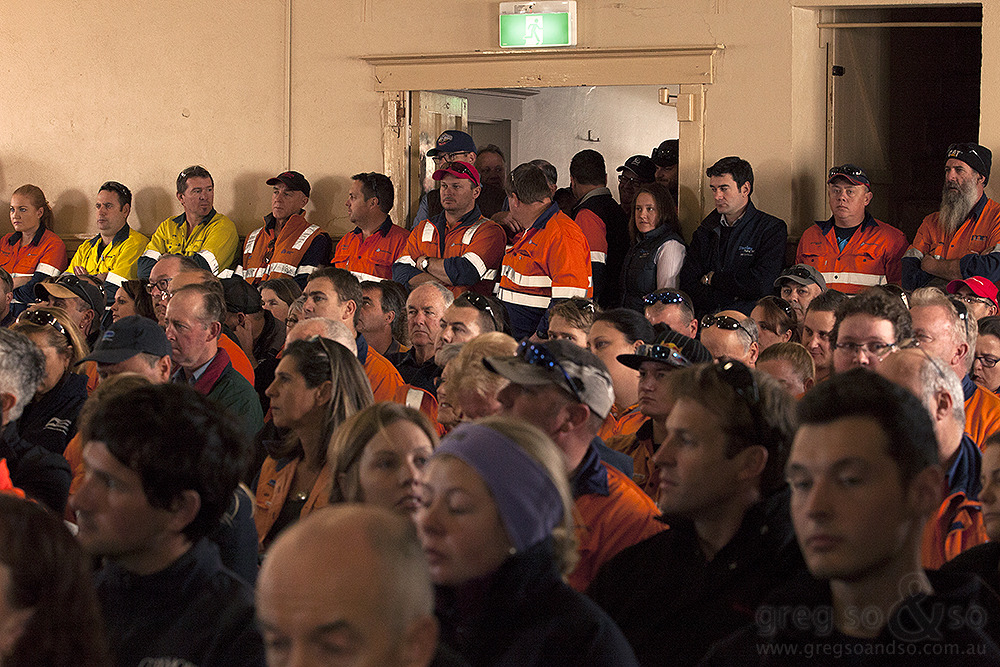 Anglo American miners, Denman NSW PAC hearing