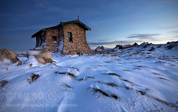 Seamans Hut, Charlottes Pass 1