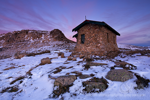 Seamans Hut, Charlottes Pass 2