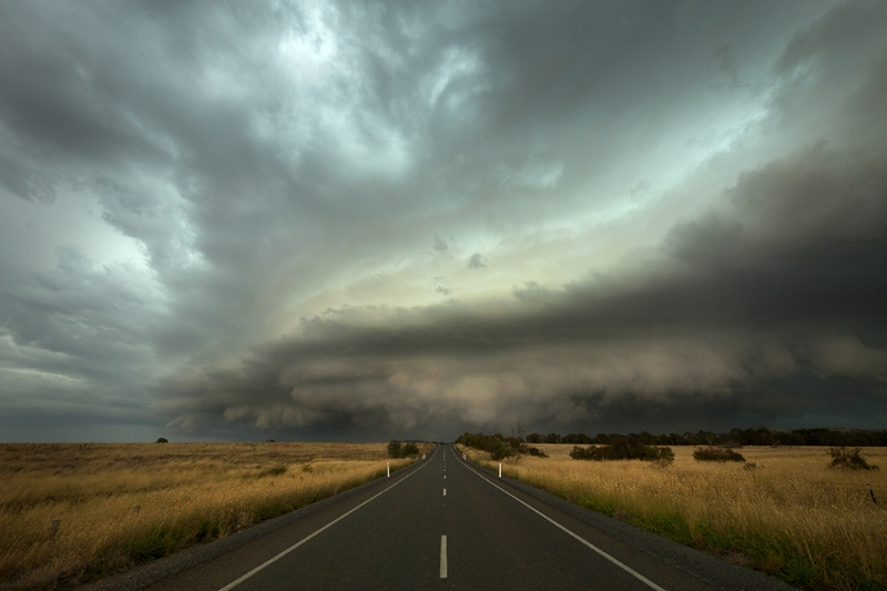 2012 Australia Day Tornadic Supercell
