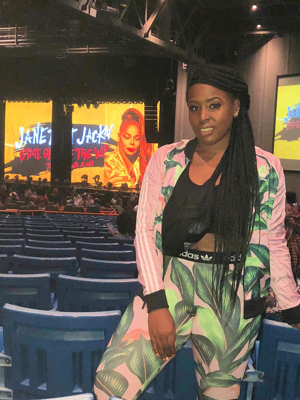 Janet Jaackson Concert