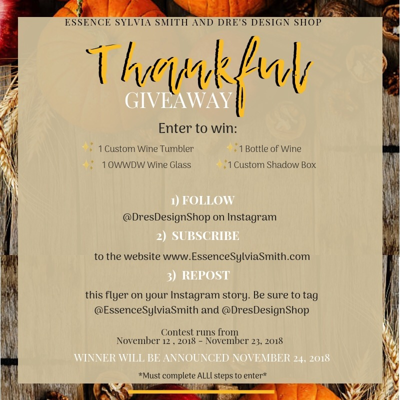 Thankful Giveaway