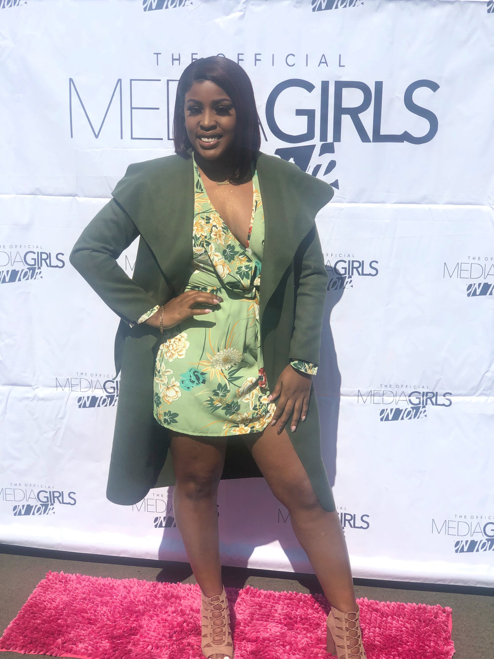 Jacket and Dress: Boohoo  Shoes: Charlotte Russe