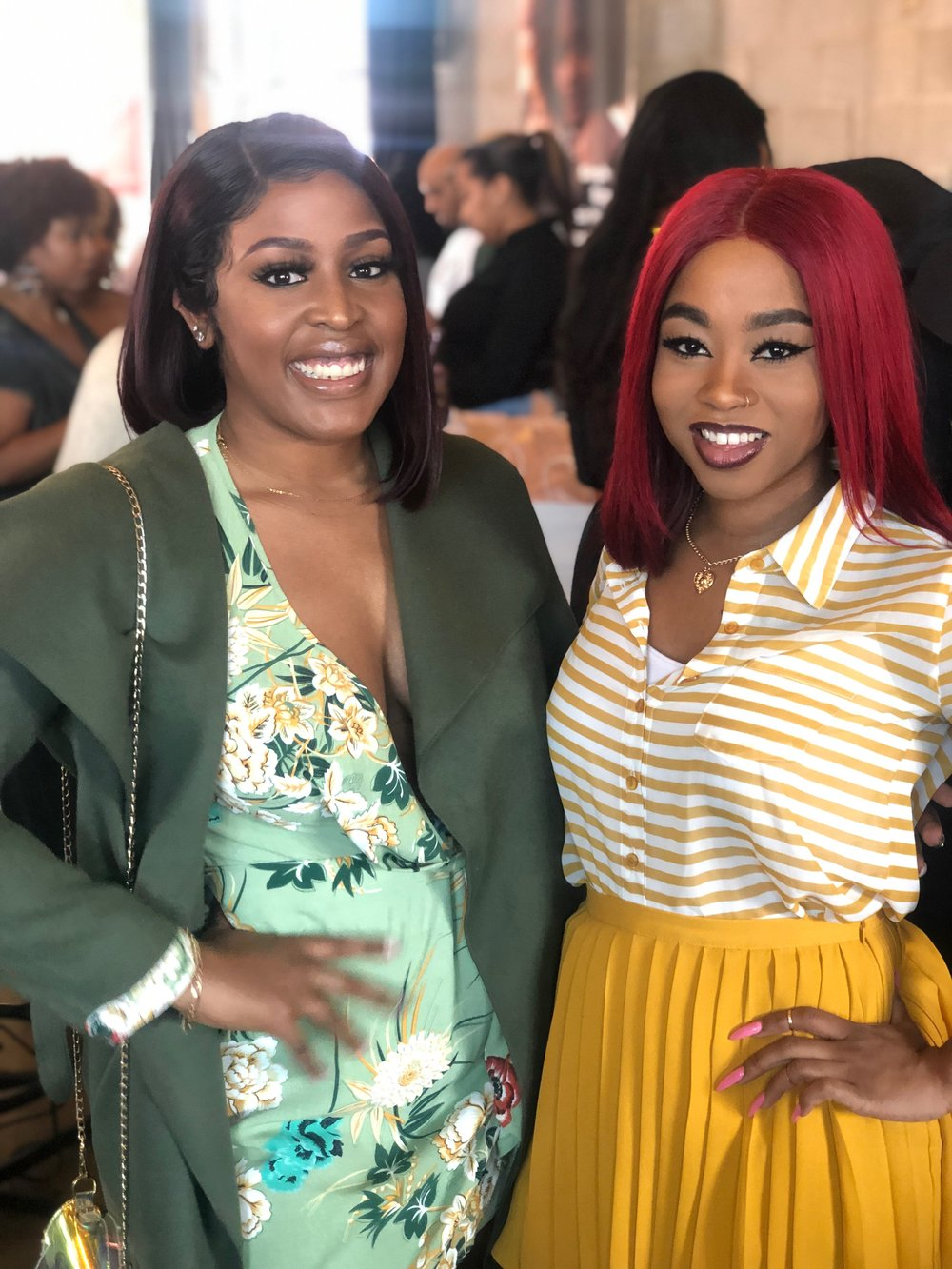 I ran into my fellow Blogging Sis and Influencer  @doubleostyles
