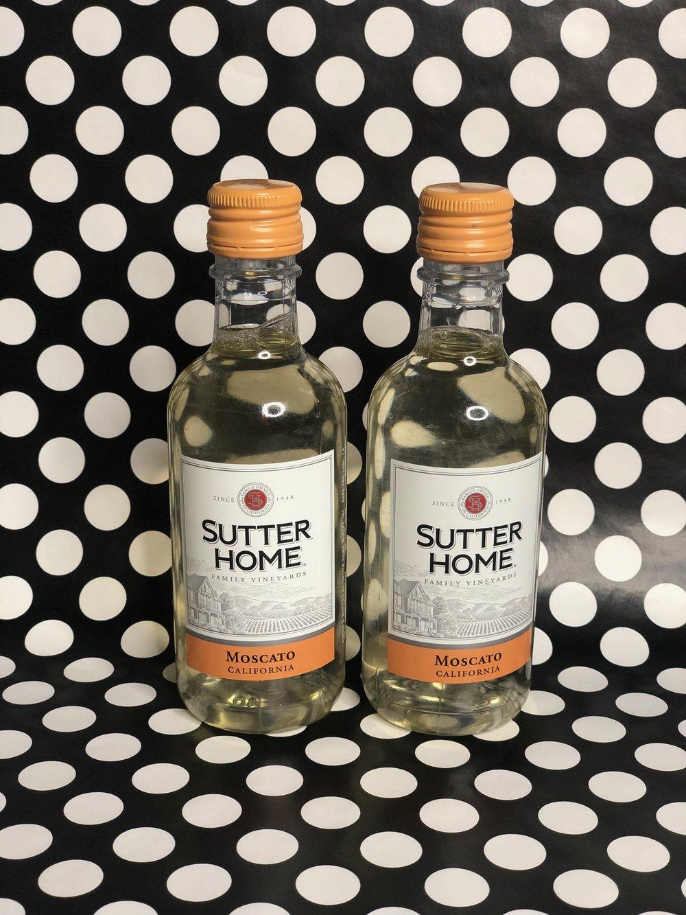 Mini Sutter Home Wine Bottles