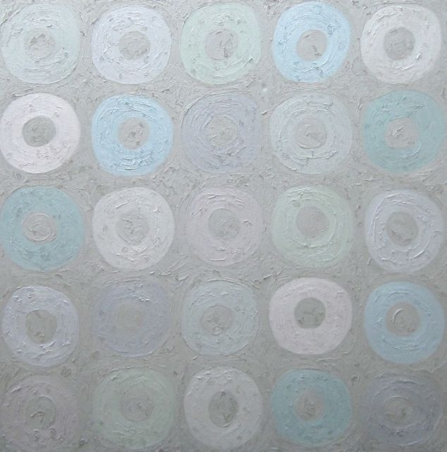Grey Gardens, 60 x 60 inches, oil on canvas, 2010