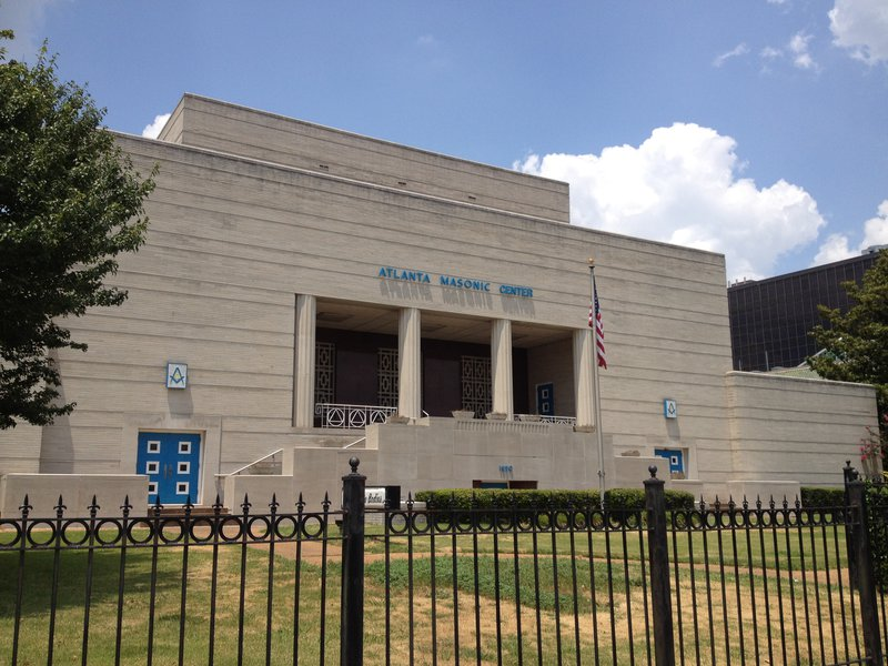 Atlanta Masonic Center - 1690 Peachtree St NW. Atlanta, GA 30309