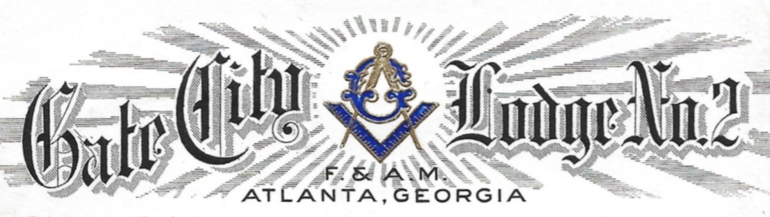 Gate City Lodge No. 2