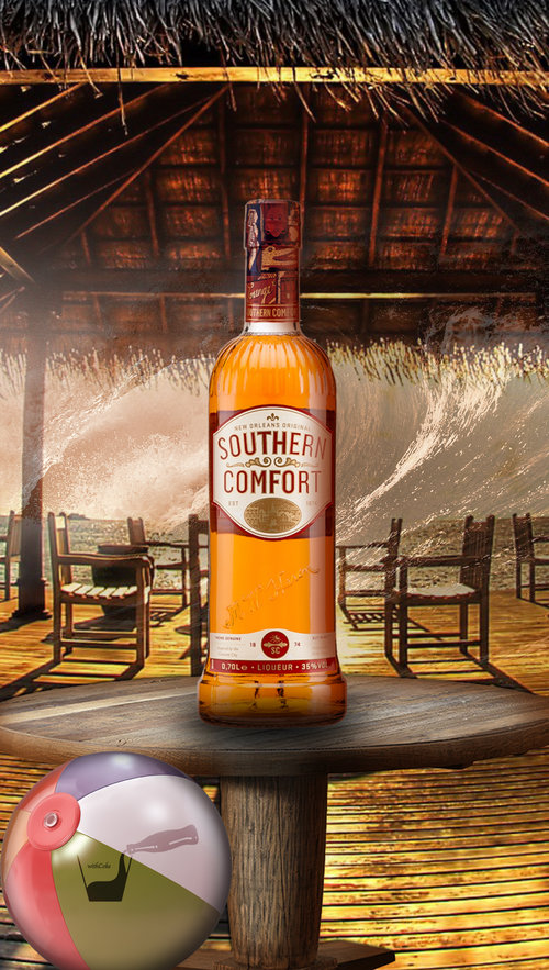 Southern Comfort With Coke