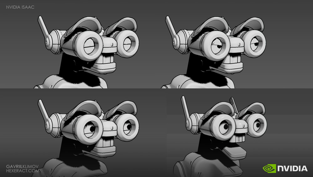 I did a quick over the 3ds Max viewport to test Isaac's expressions
