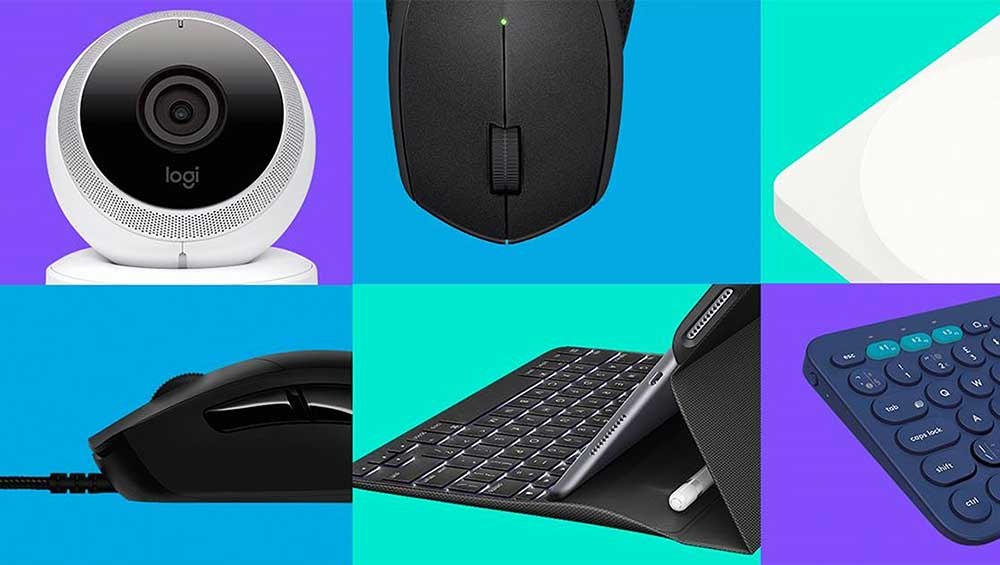 Logitech, a maker of PC and consumer electronics peripherals, reported a bang-up holiday sales quarter, sending its stock rocketing to a more than eight-year high.