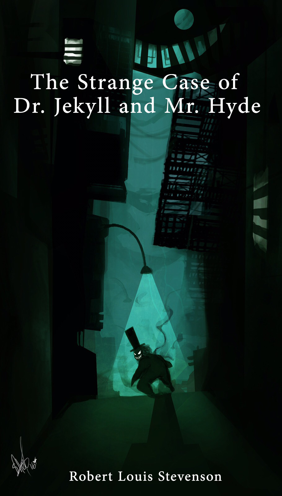 Custom cover of Dr. Jekyll and Mr. Hyde by Bader Shirawi