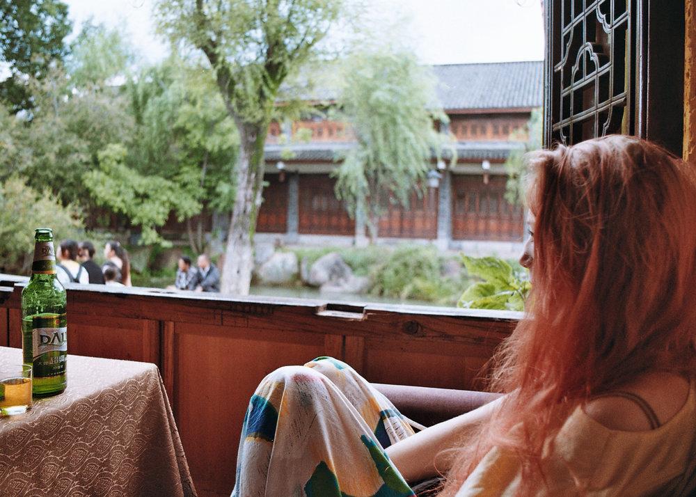 Chilling in Lijiang