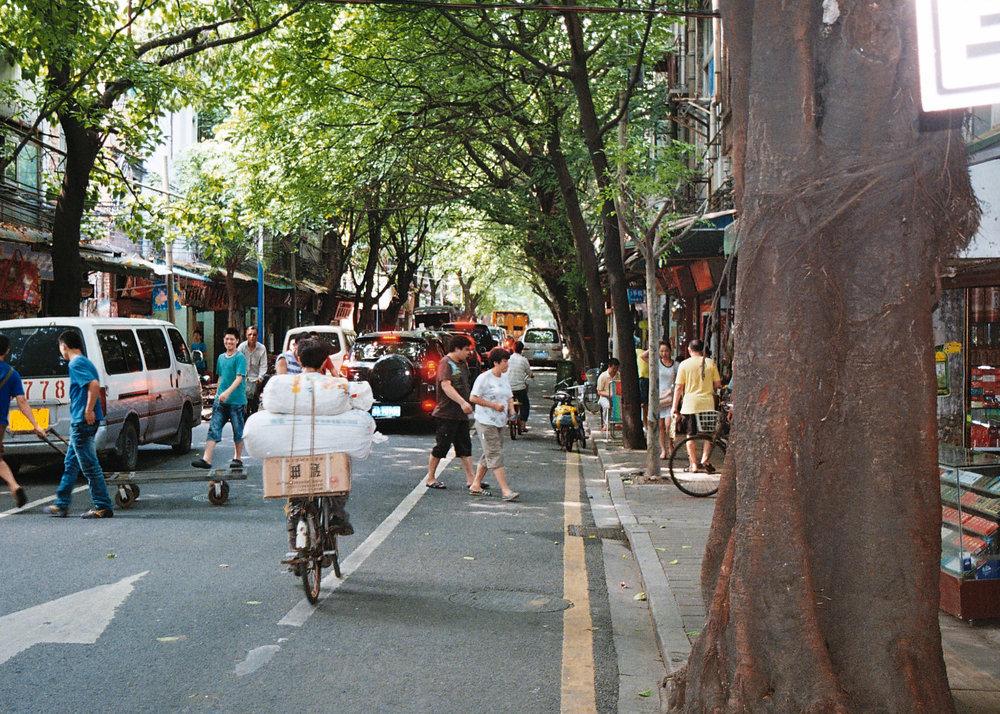 Bustling Guangzhou Market