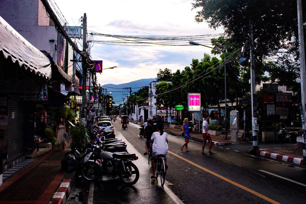 Chiang Mai after rain