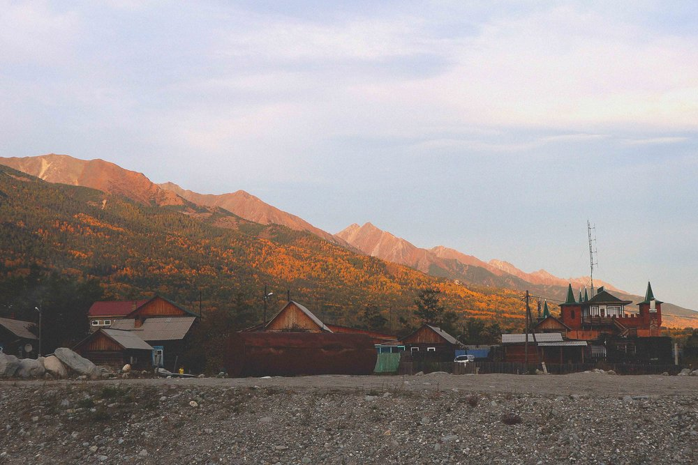 The sleepy mountain spa village of Arshan
