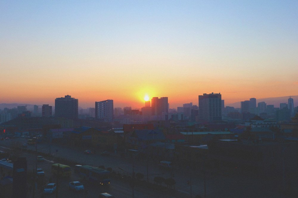 Sunrise in UB