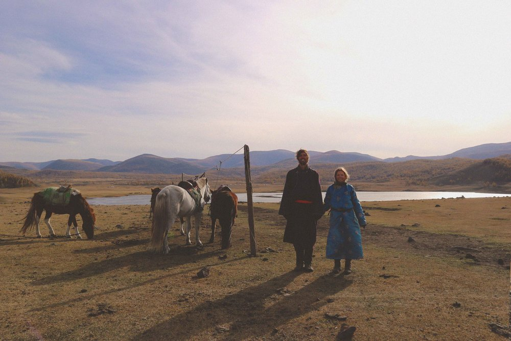 Horse Trekking In The 8 Lakes Area Mongolia