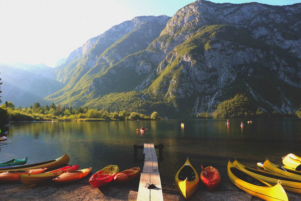 Jezero Bohinj, in all its radiant glory