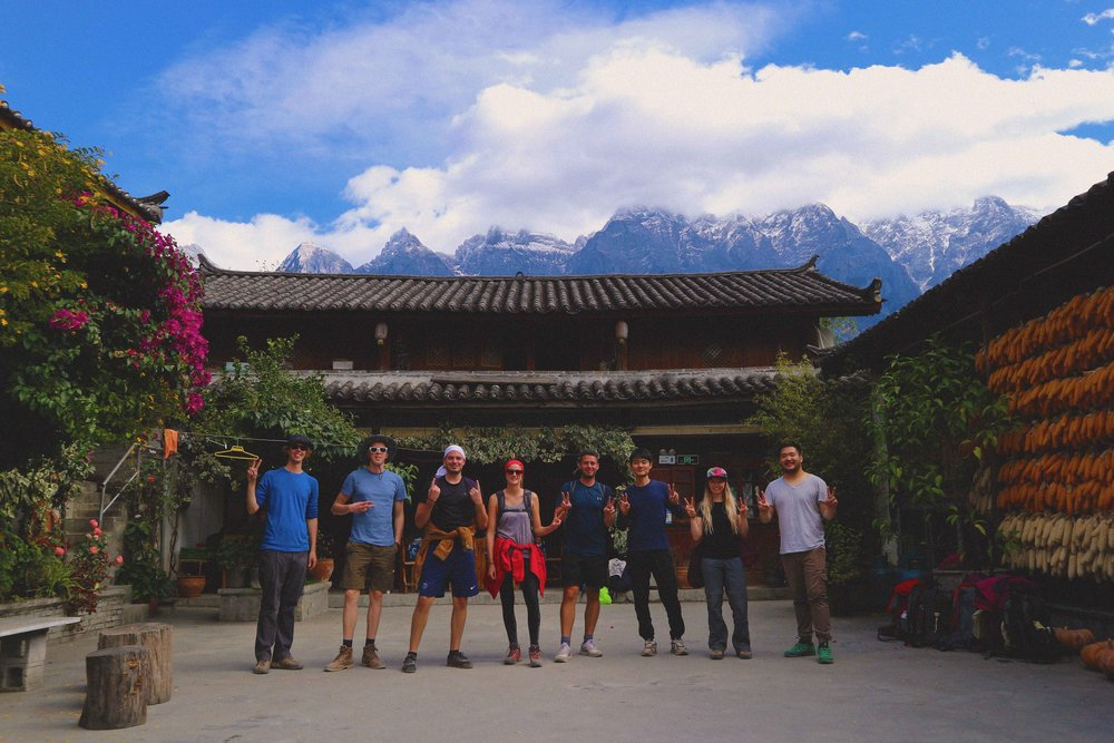 Big up the walking gang at Naxi's