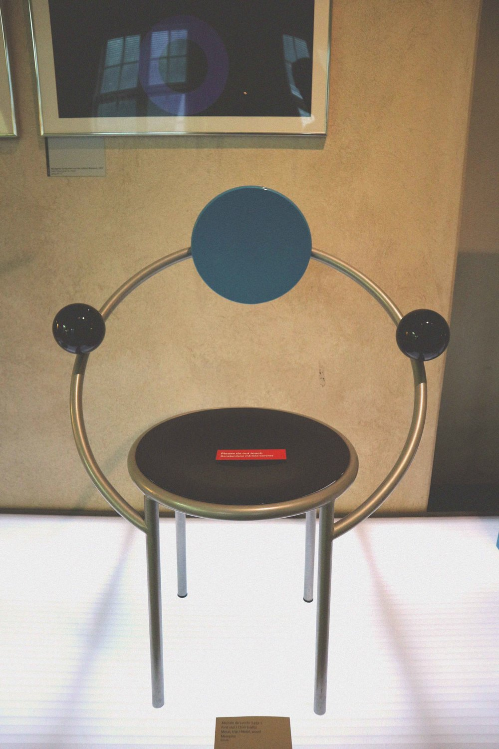 A chair from the 1980s Memphis group who sought to kill off mass production through an artisanal approach to design. Their stuff is pretty crazy!