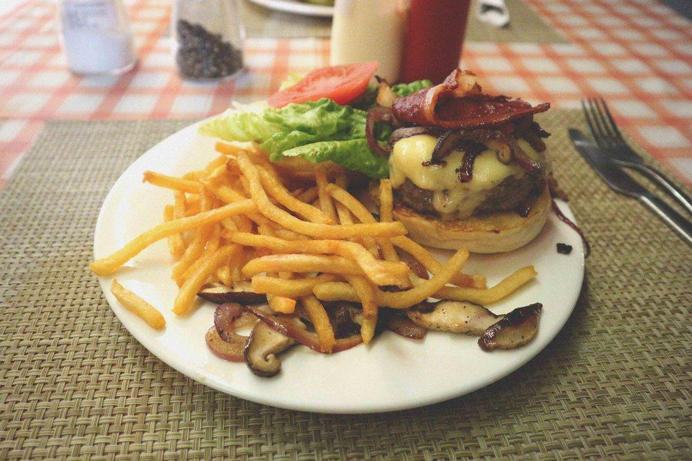 A Serendipity burger