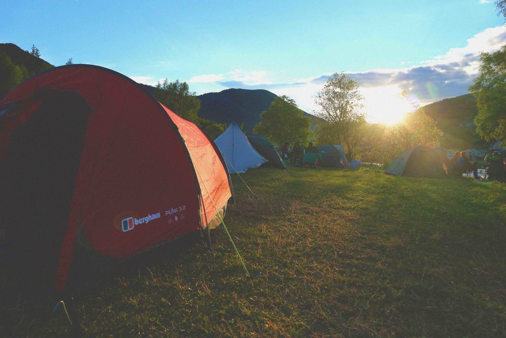 Our Berghaus tent