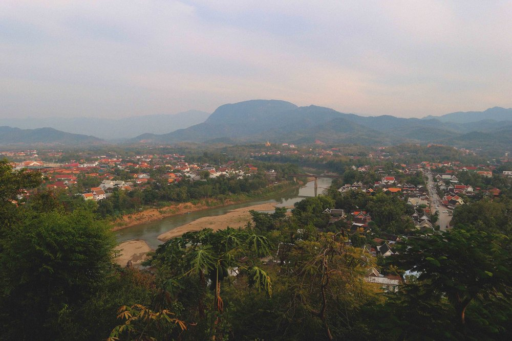 View of Luang Prabang