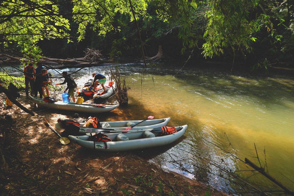 Kayaking in the Nam Ha National Park