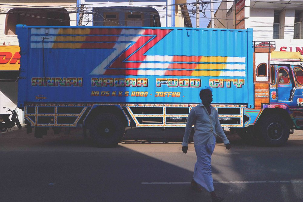 Annai Nagaa Food City Truck in Jaffna