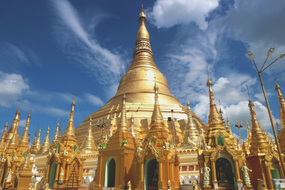 The Golden Temple Shwedagon Paya