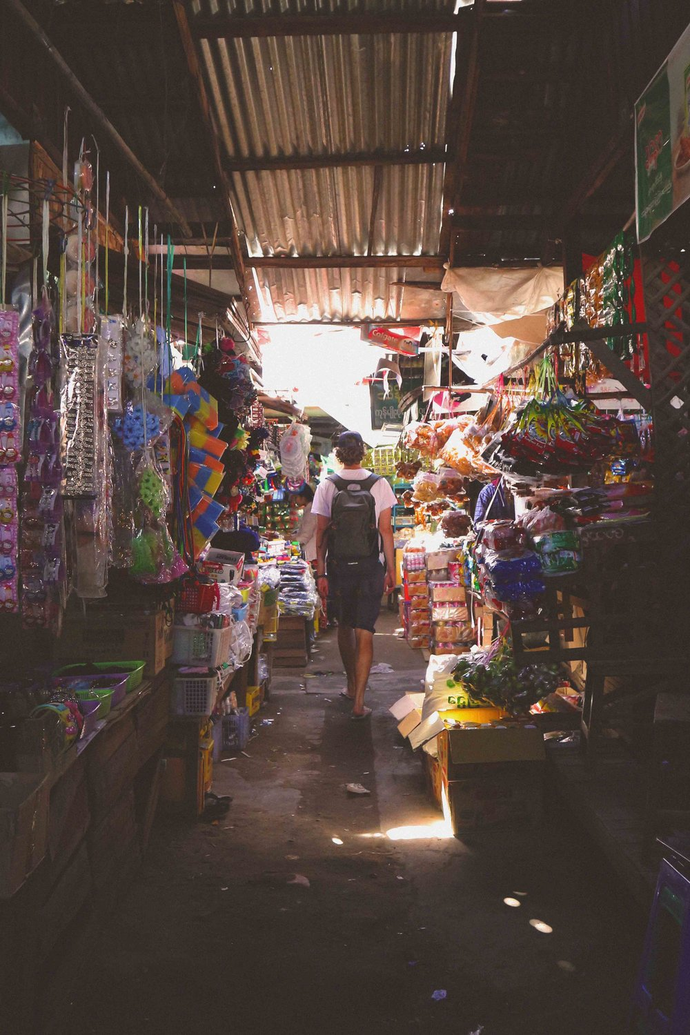 Getting lost in the market