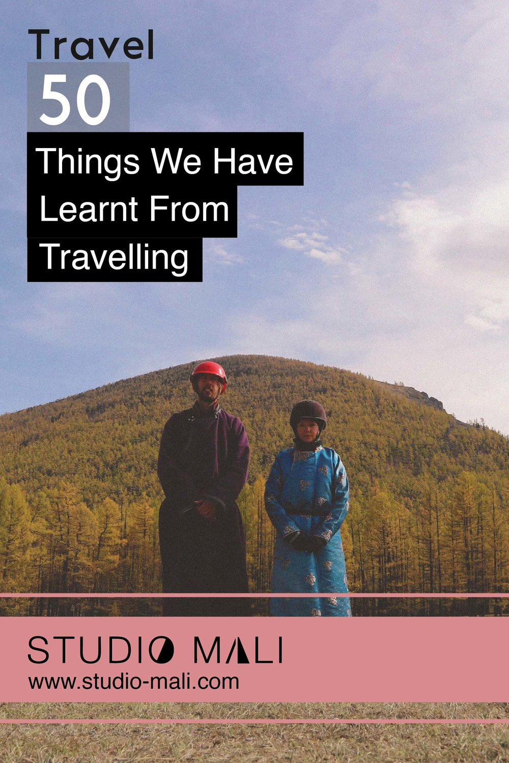 50 Things We Have Learnt From Travelling, By Studio Mali