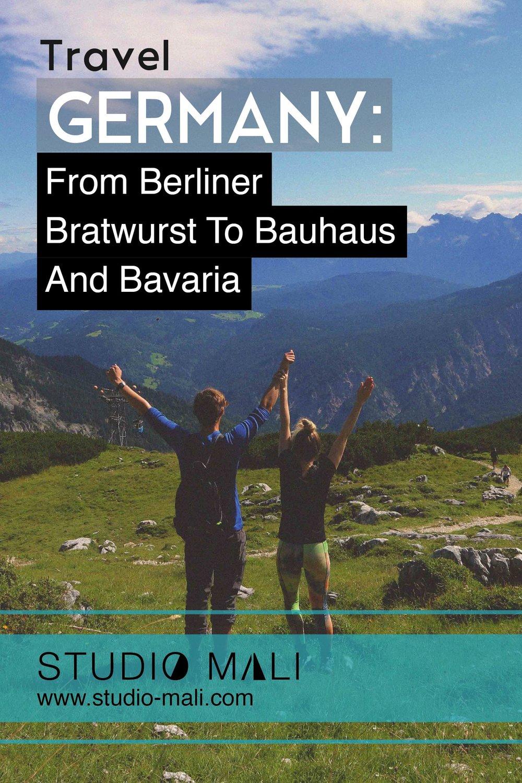Germany - From Berliner Bratwurst To Bauhaus And Bavaria, by Studio Mali