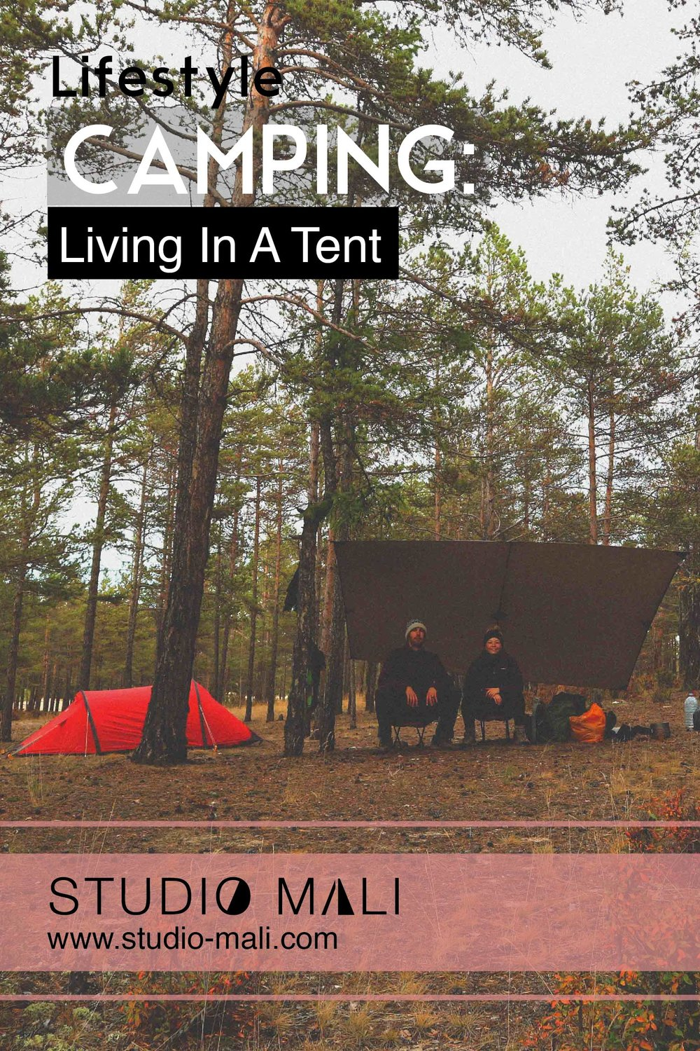 Camping - Living In A Tent, By Studio Mali