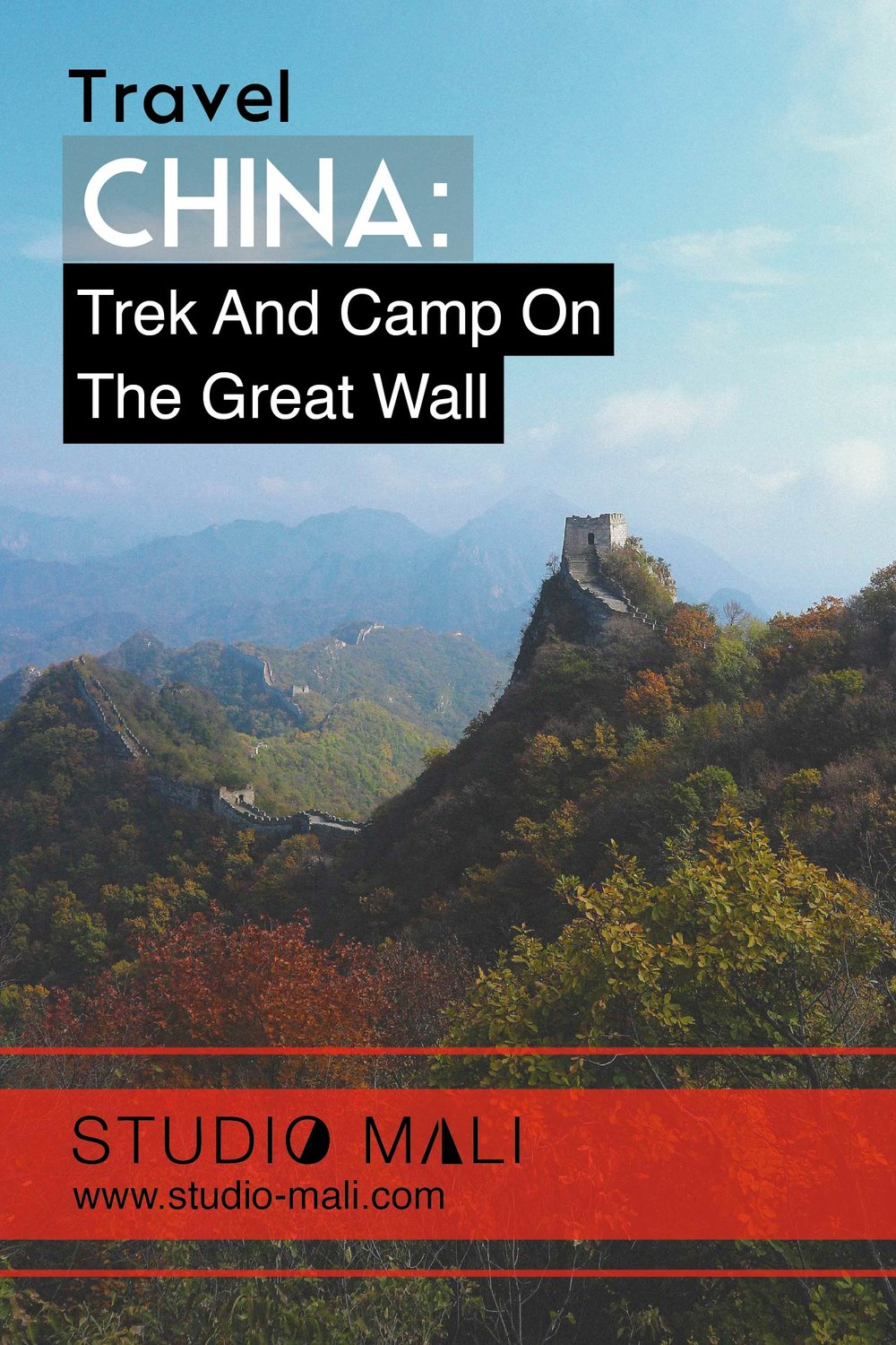 China: Trek and camp on the Great Wall, By Studio Mali
