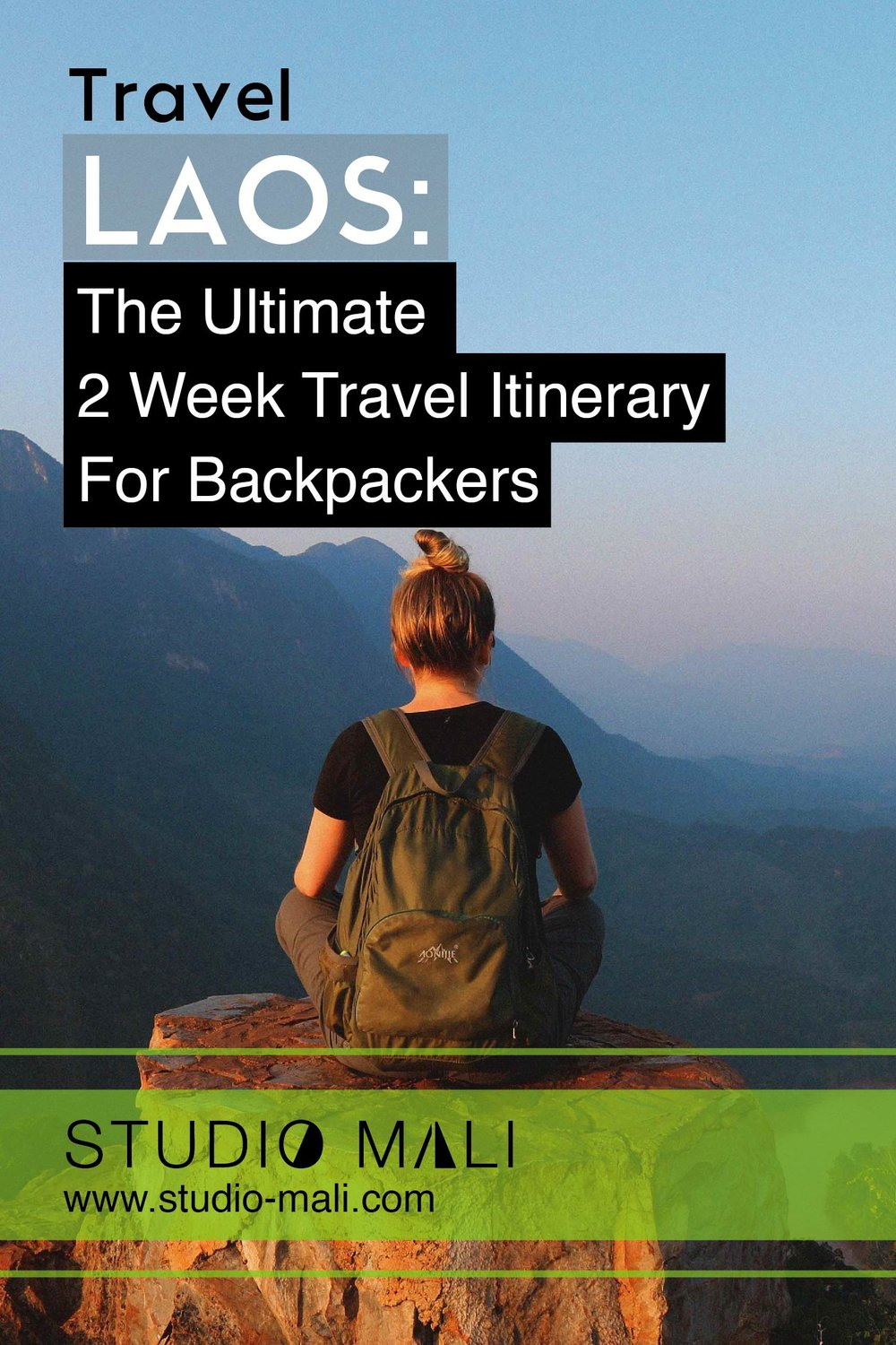 Copy of Laos: The Ultimate 2 Week Travel Itinerary For Backpackers, By Studio Mali