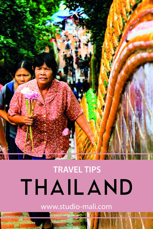 Thailand Travel Tips, by Studio Mali