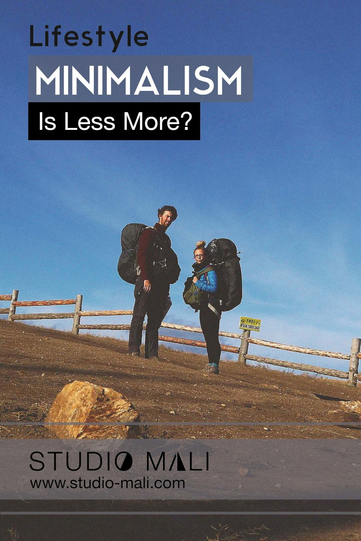 Minimalism: Is Less More? by Studio Mali