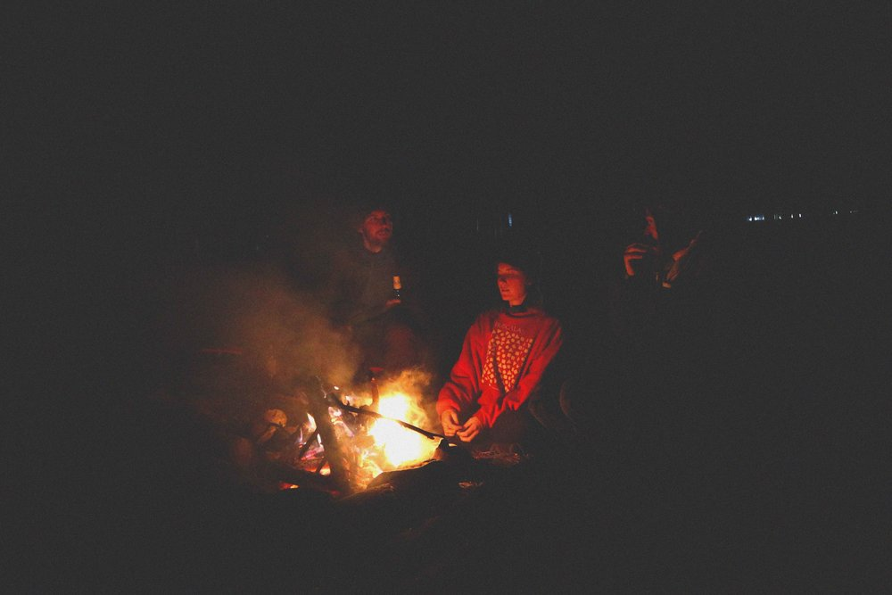 How many teenagers have sat around a fire with their friends? Or would think to?
