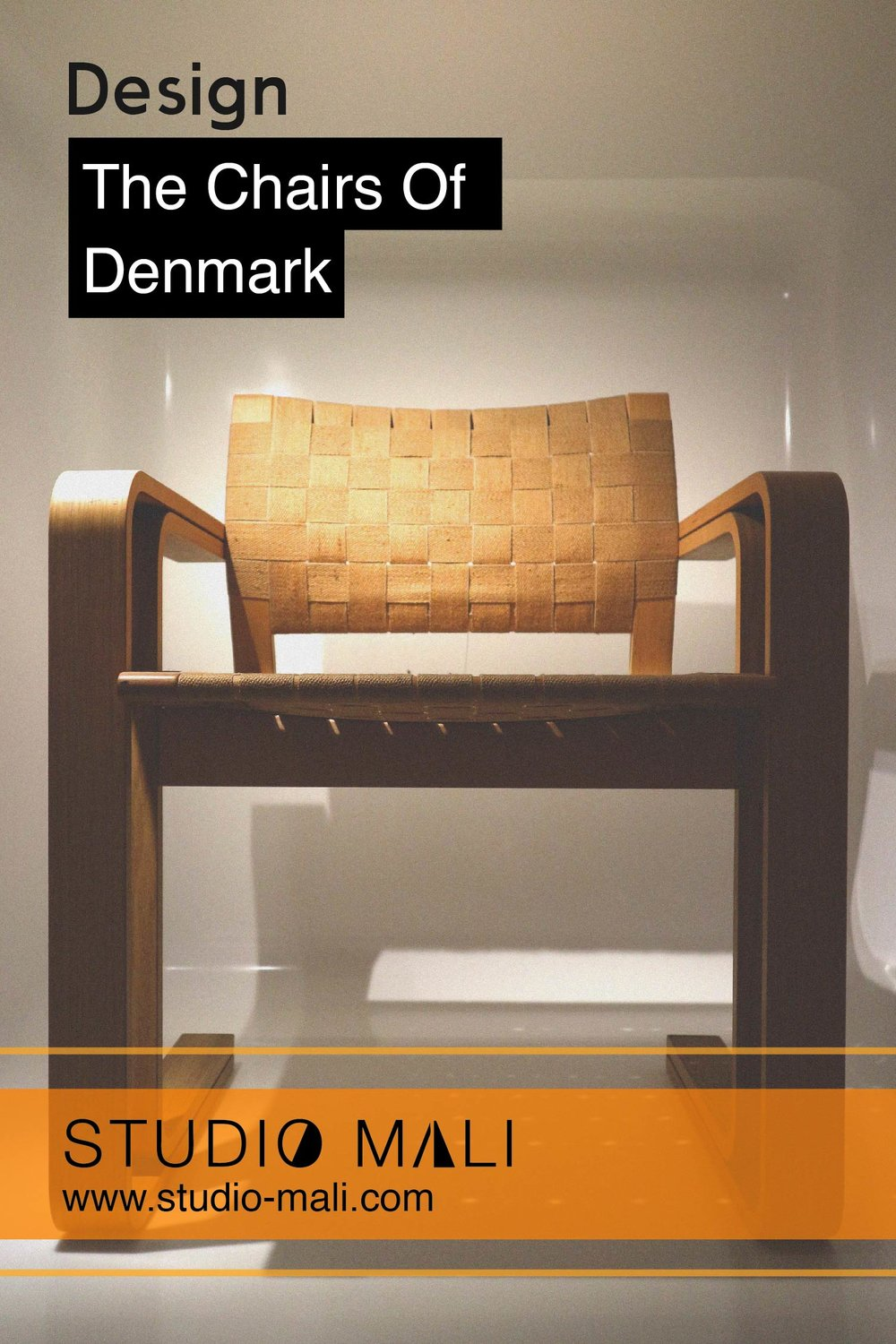 The Chairs Of Denmark, by Studio Mali